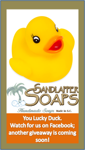 Another Sandlapper Soaps Giveaway is Coming Soon