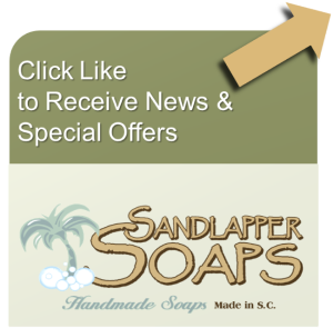 Like Sandlapper Soaps on Facebook
